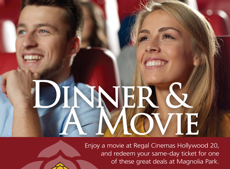 Dinner & a Movie Special Offers