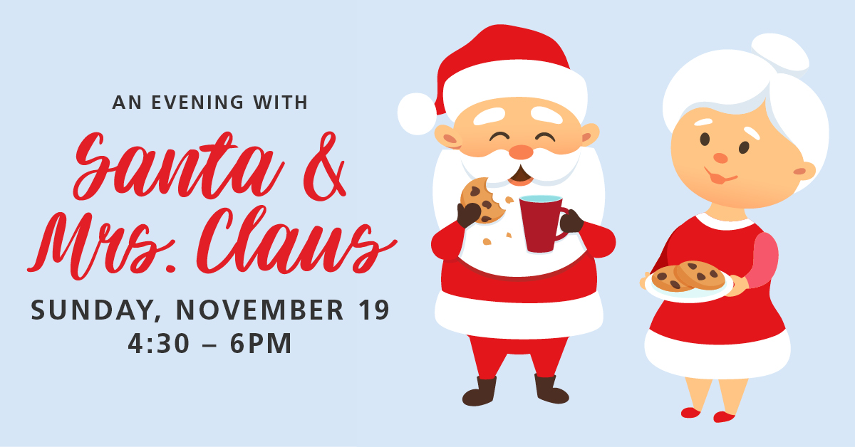 An Evening With Santa & Mrs. Claus